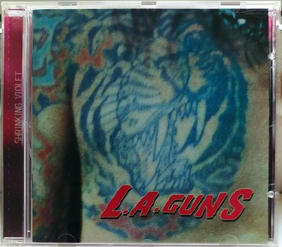 L.A. Guns - Shrinking Violet 二手法版