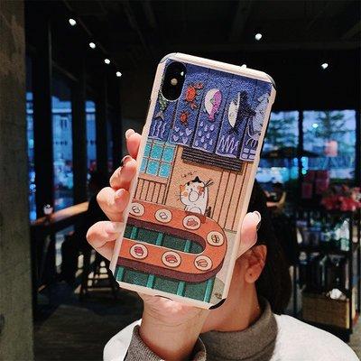 iphone手機殼手機套蘋果iphone x手機殼7plus保護套8x軟殼iphonex硅膠6s浮雕