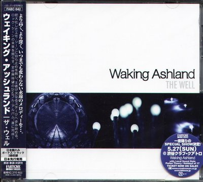 K - Waking Ashland - The Well - 日版 +2BONUS - NEW