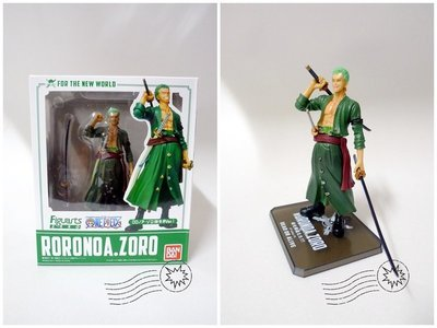 ONE PIECE 海賊王 索隆 RORONOA ZORO 新世界Ver. 兩年後 Figuarts Zero 港版