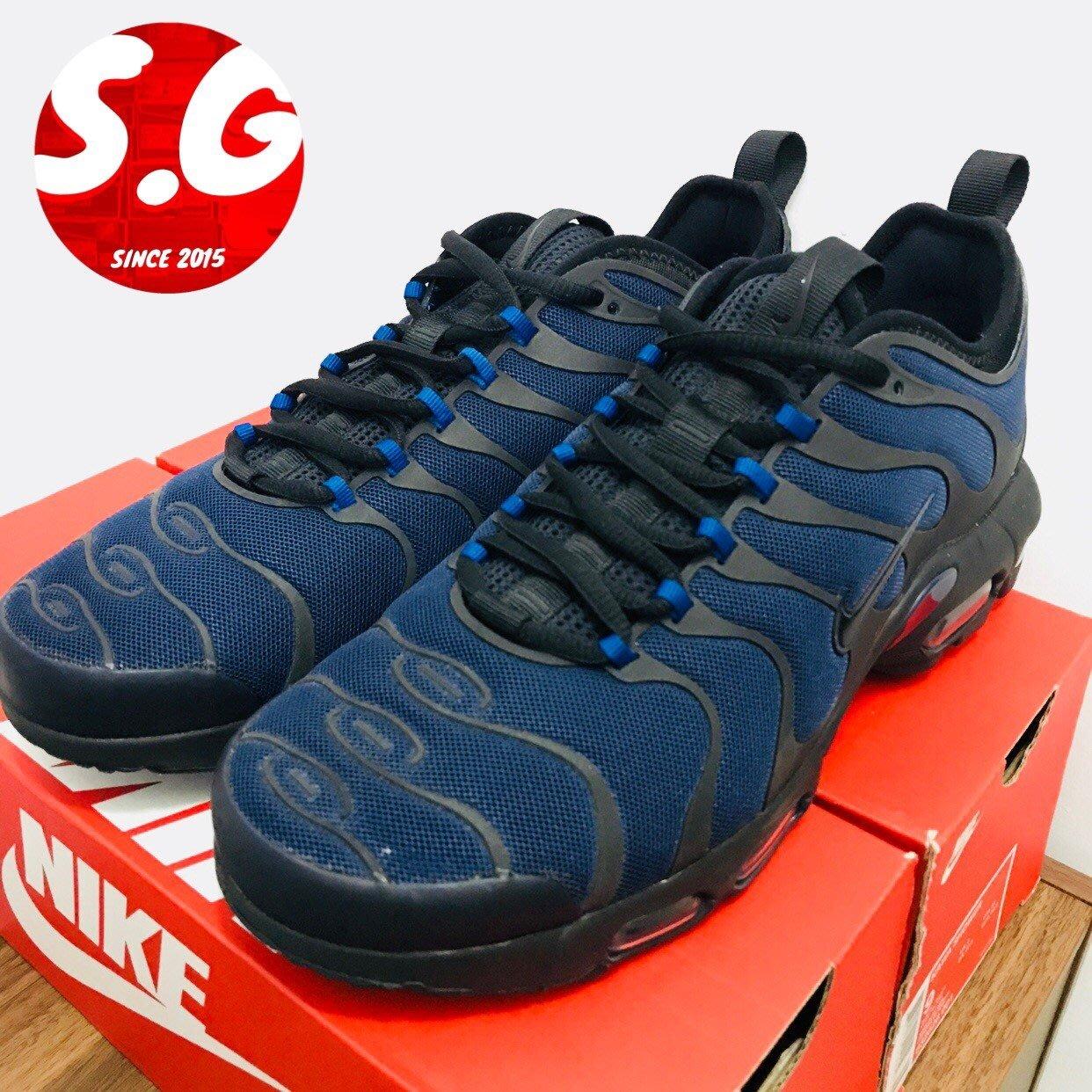 S.G NIKE AIR MAX PLUS TN ULTRA 復古 休閒 氣墊 反光 藍 黑 男鞋 898015 404