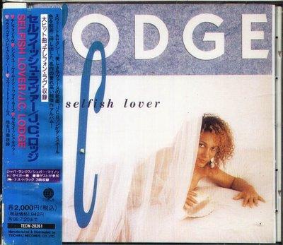 K - J.C. Lodge - Selfish Lover - 日版 OBI