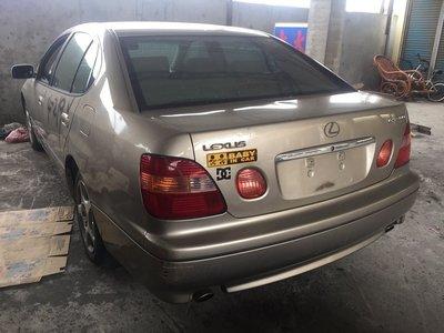 埔心汽車材料 報廢車 凌志 LEXUS GS300 1998 零件車 拆賣