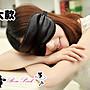 【 RosePink】雙面全黑舒適無敵遮光蠶絲眼罩...