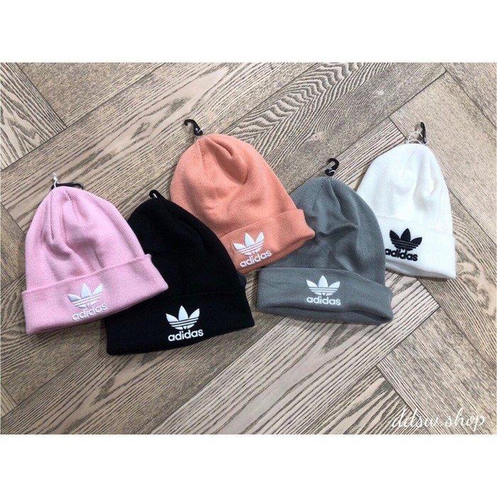 Adidas Originals 三葉草 毛帽 五色