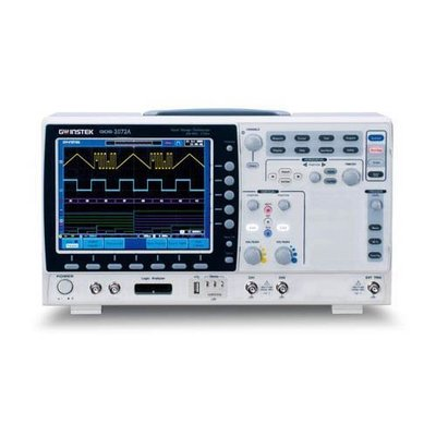 TECPEL 泰菱》GWInstek 固緯電子 GDS-2072E 70MHz 2通道數位儲存示波器 示波器