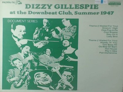 1-20-7爵士-迪吉葛拉斯彼Dizzy Gillespie at the Downbeat Club