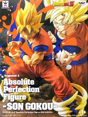 日本正版 景品 七龍珠Z Absolute Perfection Figure APF 孫悟空 模型 公仔 日本代購