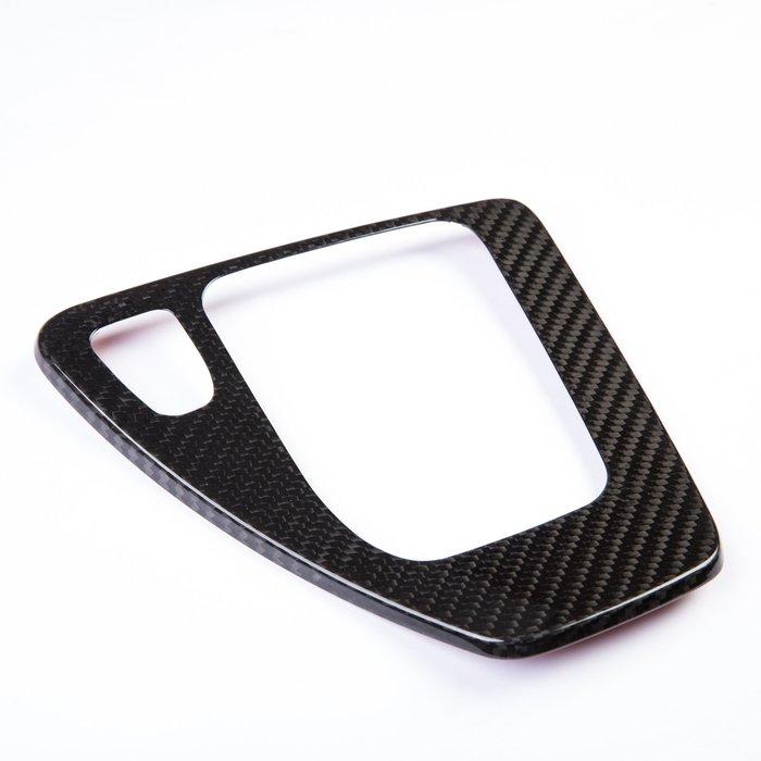 BMW 寶馬3系列 E90 E91 E92 E93 適用 CARBON碳纖維排檔座飾板飾蓋 卡夢換檔控制面板貼