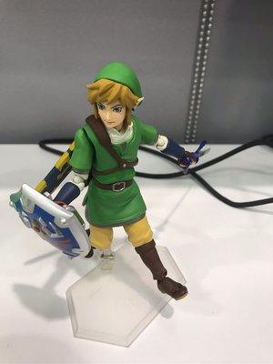 免費送出 FREE 薩爾達傳說 Legend of Zelda 林克 Link figma (有盒但有損壞)defected