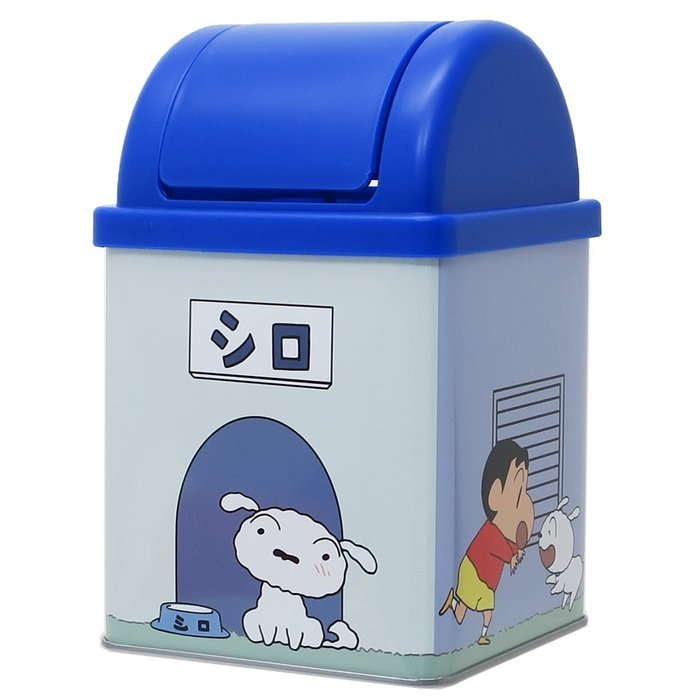 XinmOOn Crayon Shin-chan trash 蠟筆小新 小新 收納盒 收納箱 小白 垃圾桶 迷你垃圾桶