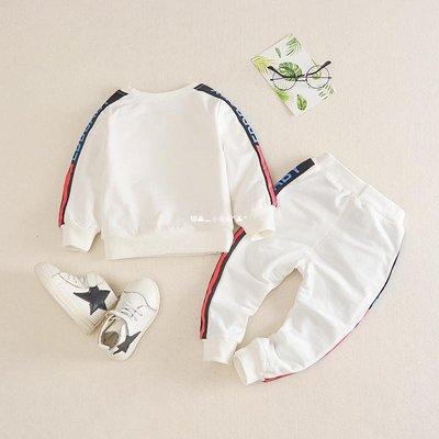 `惗.Study溡光 六7七8八9九10個月春秋男童嬰兒衣服男寶寶秋裝0-1-2-3歲套裝洋氣