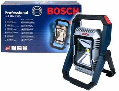 【合眾五金】『含稅』GLI 18V-1900 C探照燈照明燈工作燈手電筒單主機 BOSCH博世保固一年實體店面安心購買