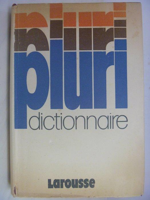 【月界二手書店】Pluri Dictionnaire 法法大字典(精裝本)_Larousse_法文 〖字典〗AGM