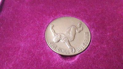 2758日本1967年世界國際大學體育聯盟東京大會原盒紀念銅章