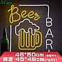 5Cgo【燈藝師】創意廣告牌led霓虹燈46*50cm...