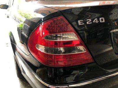 新店【阿勇的店】BENZ E240 E200 W211 02~ 05 前期 原廠型紅白晶鑽LED尾燈  W211 尾燈