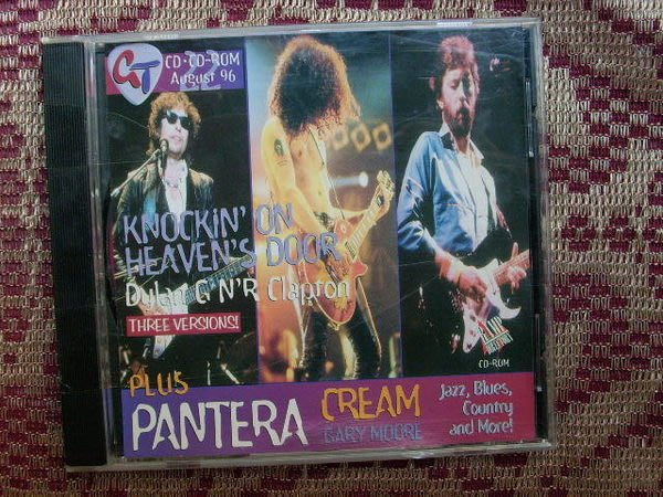 CD~吉他教學Knockin` On The Heaven`s Door,收錄Pentera-This Love等(無底頁)..如圖示