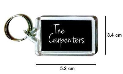 〈可來圖訂做-鑰匙圈〉The Carpenters 木匠兄妹 壓克力雙面鑰匙圈 (可當吊飾)