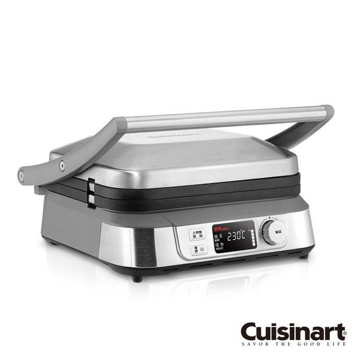 【全新含稅】美國Cuisinart 液晶溫控多功能煎烤盤 GR-5NTW (燒烤機 煎盤 烤盤 帕尼尼機)