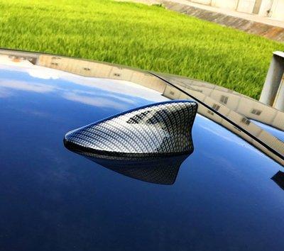 圓夢工廠 Lexus ES 2016~on ES200 ES300 ES350 改裝 鯊魚鰭天線蓋飾貼 鍍鉻銀 碳纖紋