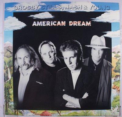 《二手美版黑膠》Crosby, Stills, Nash & Young – American Dream