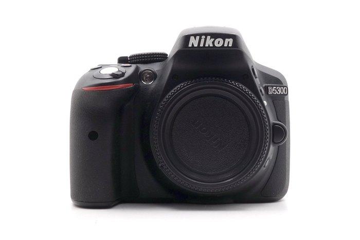 【台中青蘋果】Nikon D5300 單機身 二手 APS-C 單眼相機 快門次數約6455 #27638