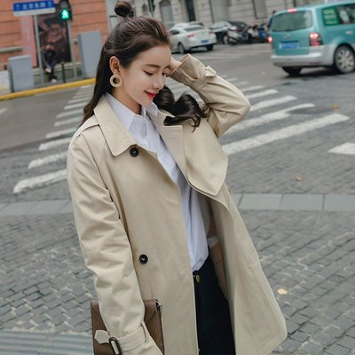 秋裝女裝風衣女款韓版學生氣質小個子春秋季女式外套