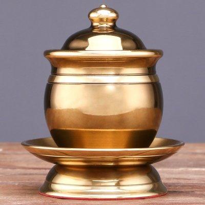hello小店-佛具 純銅敬水杯供佛水杯凈水杯 家用佛前供奉仿古供水杯擺件#供水杯#果盤#