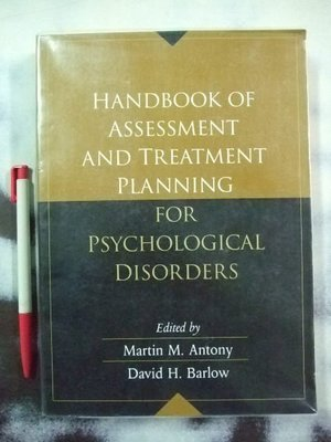 6980銤:A6☆2004年『Handbook of Assessment and Treatment Planning for Psychological Disorders』ISBN:1593850131