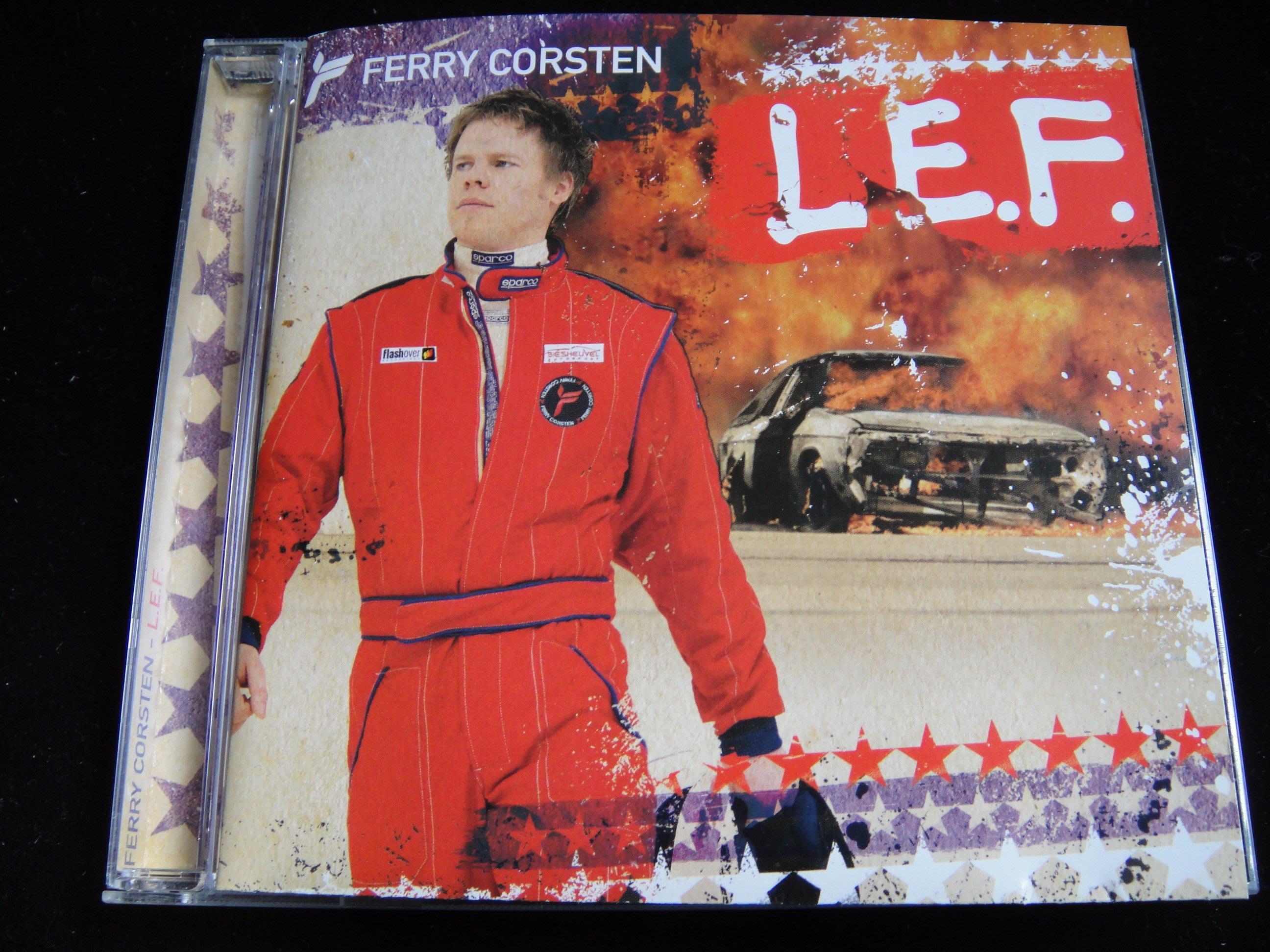 【198樂坊】 Ferry Corsten L.E.F費利高士頓(Are You Ready.....台版)DF