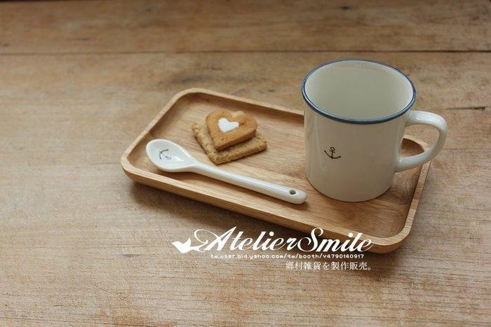 [ Atelier Smile ] 鄉村雜貨 歐洲進口櫸木 烘焙廚房專用 橡木長方形點心托盤  (現+預)