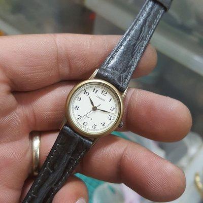 古銅色 日本 CASIO 秀氣女錶 非 Z1 Rolex ETA OMEGA ORIENT 機械錶 LV GUCCI ck mk iwc TELUX