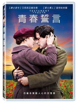 [DVD] - 青春誓言 Testament of Youth ( 得利正版 )