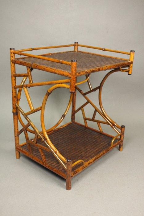 悅年堂 --- 日本 竹 茶棚 茶櫃