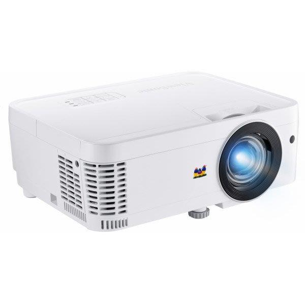高傳真音響【ViewSonic PS501X】3500高流明 XGA 高亮度 短焦教育投影機│教室互動式教學會議室簡報