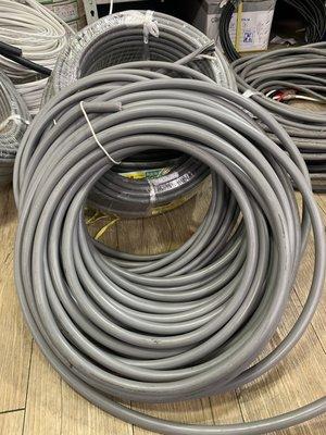 DIY水電材料 大山牌電纜線8mm/3C-電源線.散賣一米=85元/CNS合格認證
