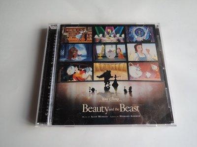 絕版特別加長版CD 美女與野獸原聲帶 Beauty And The Beast 迪士尼卡通奧斯卡獎Alan Menken
