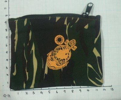 W軍用品 小迷彩零錢包 海軍陸戰隊馬克...