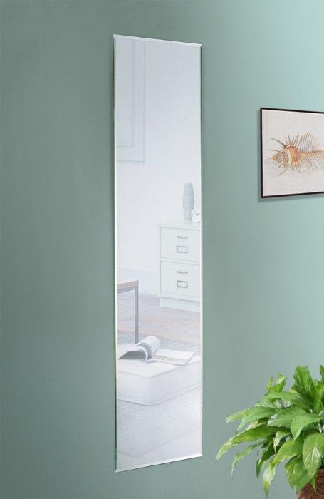 寬30無框斜邊壁鏡 貼鏡 裸鏡 全身鏡 化妝鏡 穿衣鏡【馥葉】型號MR3125 送雙面泡棉膠