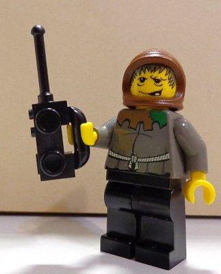 【LEGO樂高】城市警察消防系列 黑色無線電對講機 City Police Fire Station Radio