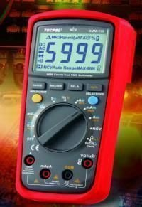 TECPEL 泰菱 》DMM-139 5999 數位 + AC真實均方根讀值 三用電表 變頻器VFD (True RMS.)
