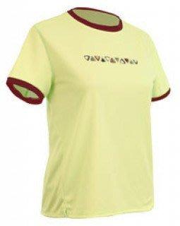 美國運動休閒名牌-- SportHill-- Veloci 女短袖排汗衣--飛速