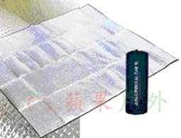 【嘉隆】K-6701  JIALORNG 市售最厚-3mm 單人鋁箔睡墊 50x180 地墊/防潮墊/PE墊
