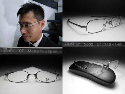 信義計劃 Ray Ban 雷朋 眼鏡 日本製 超輕 金屬框 細框 直腳 超越 Cutler and Gross