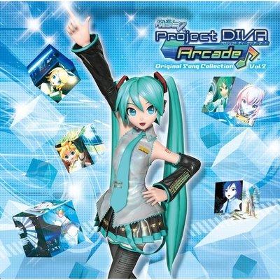 [日版動漫卡通] 初音ミク -Project DIVA Arcade- Original Song Collection Vol.2