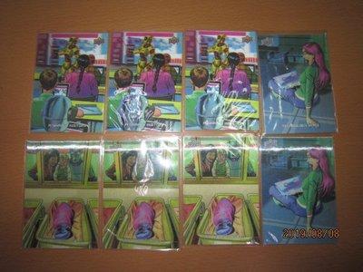 網拍讀賣~3D卡~WHEN ROBOTS RULE THE WORLD~機器人入侵地球~共8張~800元~輕鬆付~非常少