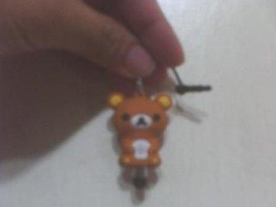 全新拉拉熊懶懶熊觸控筆,手機防塵塞