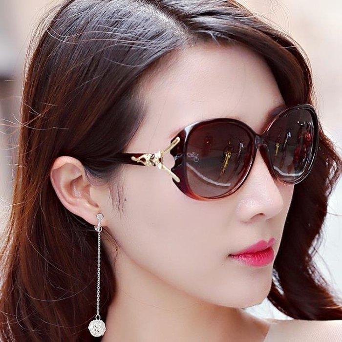 2018新款偏光女士太陽鏡女鏡大框墨鏡太陽眼鏡潮 HH2515