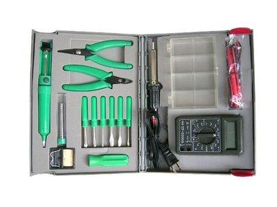 套裝工具組(CT-960T)型.螺絲起子組+尖嘴鉗+斜口鉗+三用電表..等【同同大賣場】